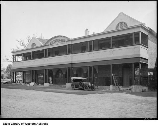 Australia - It seems that hotels are a favorite haunt of ghosts and the Kalamunda is apparently haunted by the ghost of a young lady who was seduced and became pregnant. When she found out she was too ashamed to face the world and killed herself in room 24. Guests don't seem to stay too long in that room where chills and strange lights have been noticed.