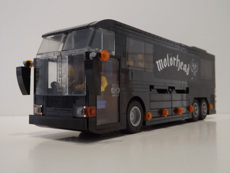 Lego Motorhead Tour Bus http://www.flickr.com/photos/ugthepug/30356224706/