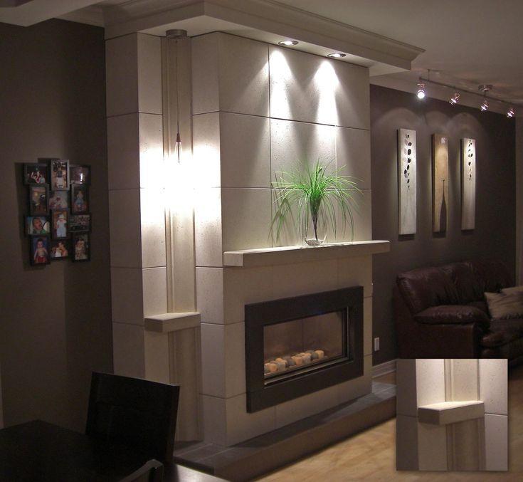 Mur Foyer Design : Best mur de foyer images on pinterest