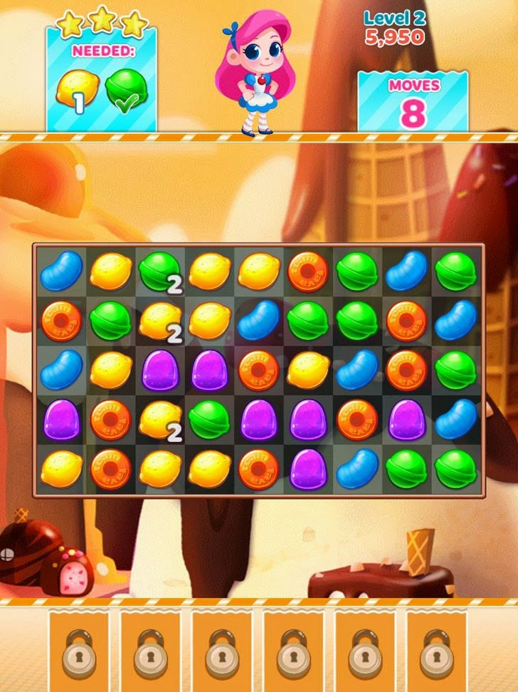 Candy Blast Mania App. Elimination puzzle apps.