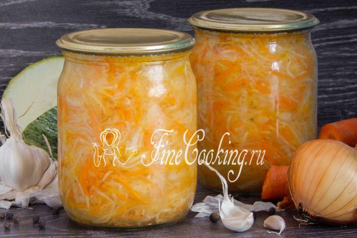 Закуска из кабачков на зиму - рецепт с фото