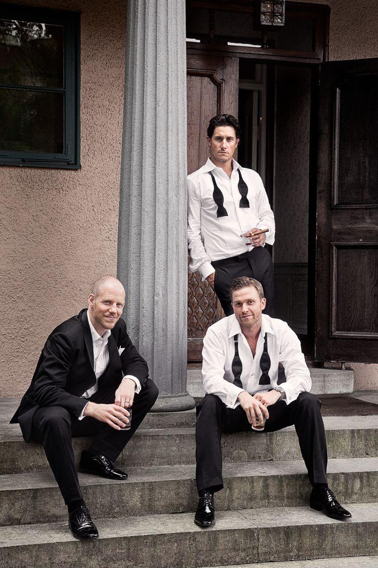 Photo by Olof Elm - Lindström Studio - www.lindstromstud... - © Copyright Fotograf Jonas Lindström AB - #wedding #bröllop #love #brudpar #vigsel #menstyle #style #homme