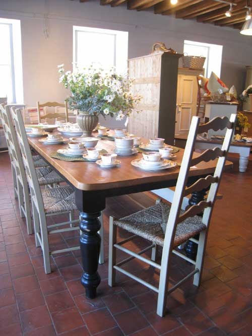 Best French Country Dining Tables Images On Pinterest Farm - 8ft dining table