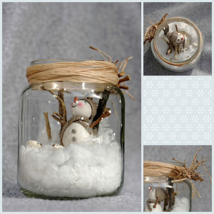 décoration de noël nouvelle scandinave   pot bonhomme de neige en porcelaine froide, pam, porcelana fria, pot ...