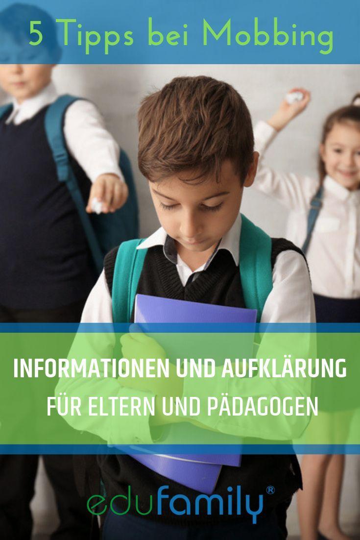 Was Tun Bei Mobbing 5 Tipps Zum Downloaden Mobbing Schule Mobbing Kindererziehung