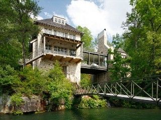 Lewis Smith Lake House Rental: Breathtaking Lake Experience Over The Falls | HomeAway
