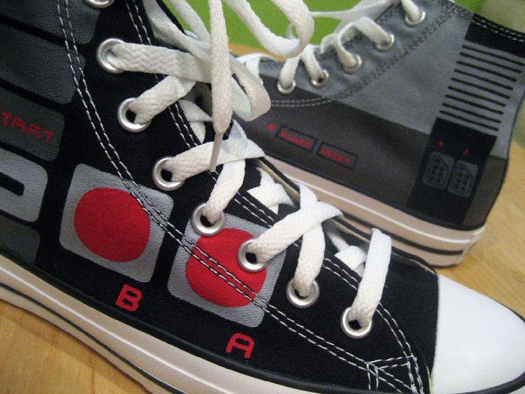 NES custom Converse