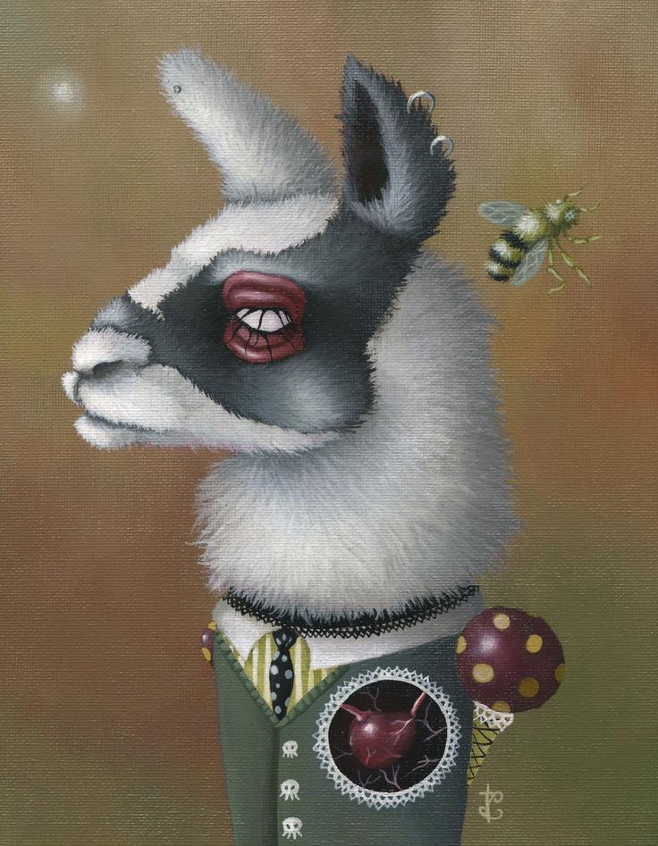 Jessica Charlotte  Llama Love - 2009