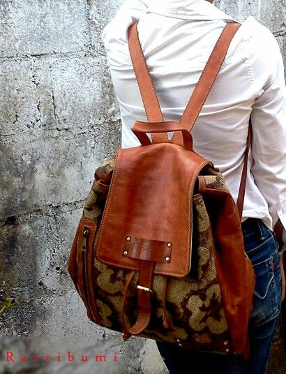 Ratribumi. #leather #handmade #leatherbag #madebyme.