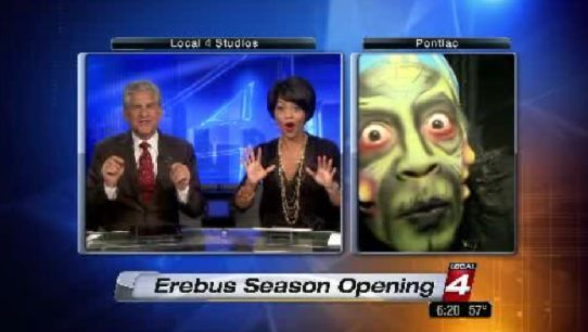 Local 4 morning reporter gets haunted house makeover | News  - Home
