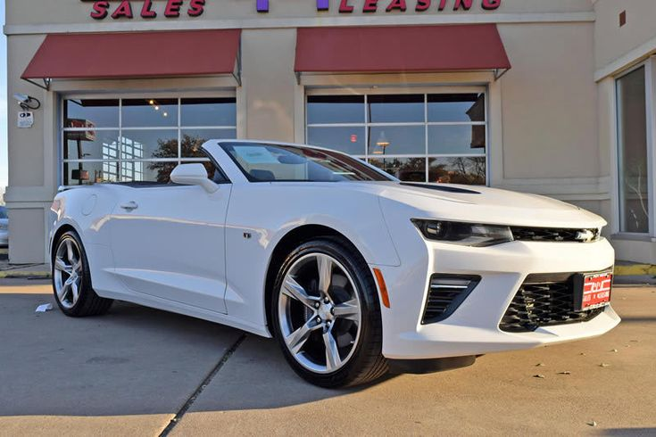 Cool Great 2016 Chevrolet Camaro SS Convertible 2-Door 2016 Chevrolet Camaro 2SS Convertible, 1-Owner, Leather, Power Top, More! 2018