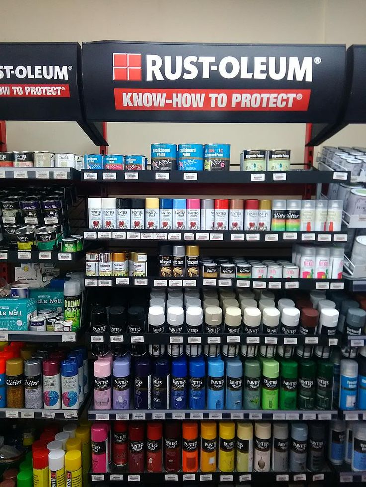 Rust-Oleum Spray Paints