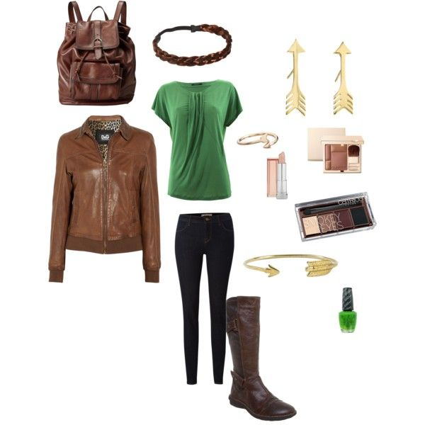Katniss Everdeen's Hunting Outfit