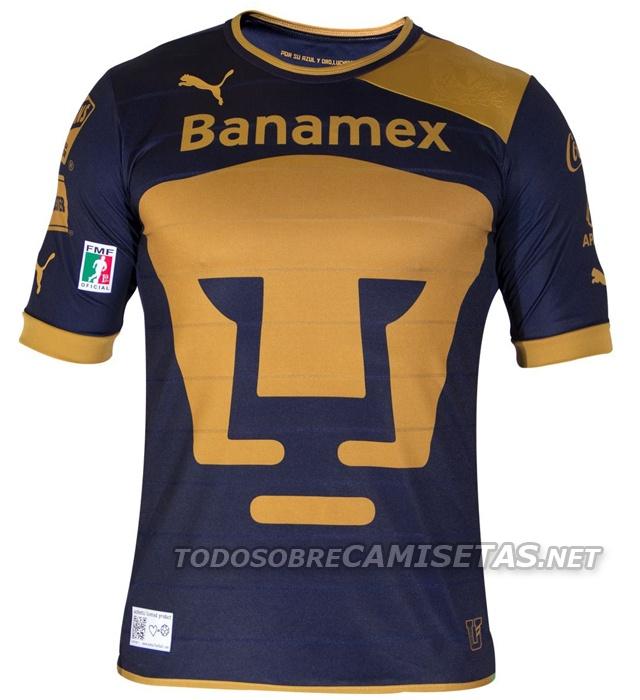 Nuevas Playeras Puma de Pumas UNAM 2012/2013