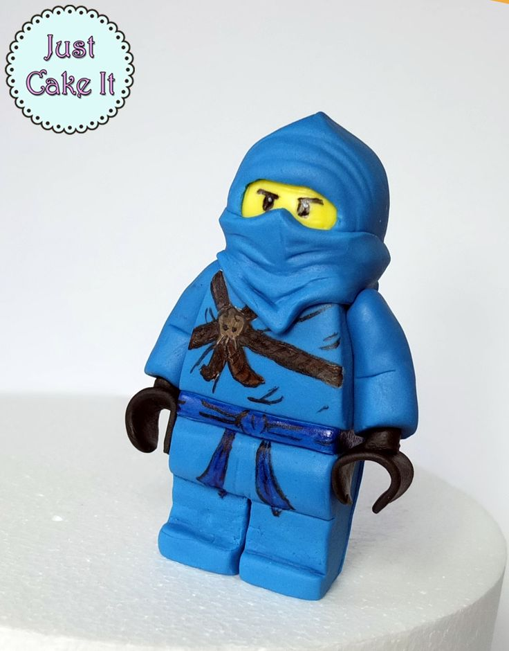How to make fondant Lego Ninjago tutorial https://www.youtube.com/watch?v=roWOCMum7b0