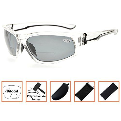 5515fbfea0 BFOCO TR90 Sports Polarized Bifocal Sunglasses For Men And Women ...