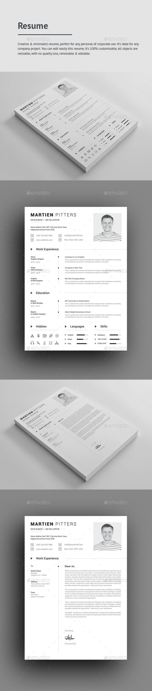 printable resume format%0A File Information Size print dimension with bleed   guidelines  well layered  organised  PSD