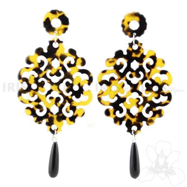 BAROCCO Nata dalla fusione del Baroque e Animalier. BAROCCO è sinonimo di stile, eleganza e stravaganza. Un tocco particolare per rendere vivace il vostro look.  #irisbijoux #jewelry #jewel #baroque #animalier #earring #fashion #bijoux