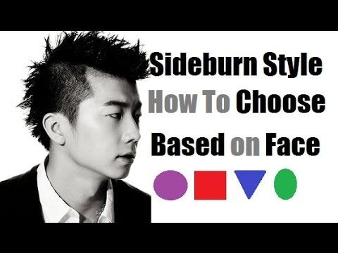 Sideburn Styles:  How To Choose Best Sideburns Based On Face Shape