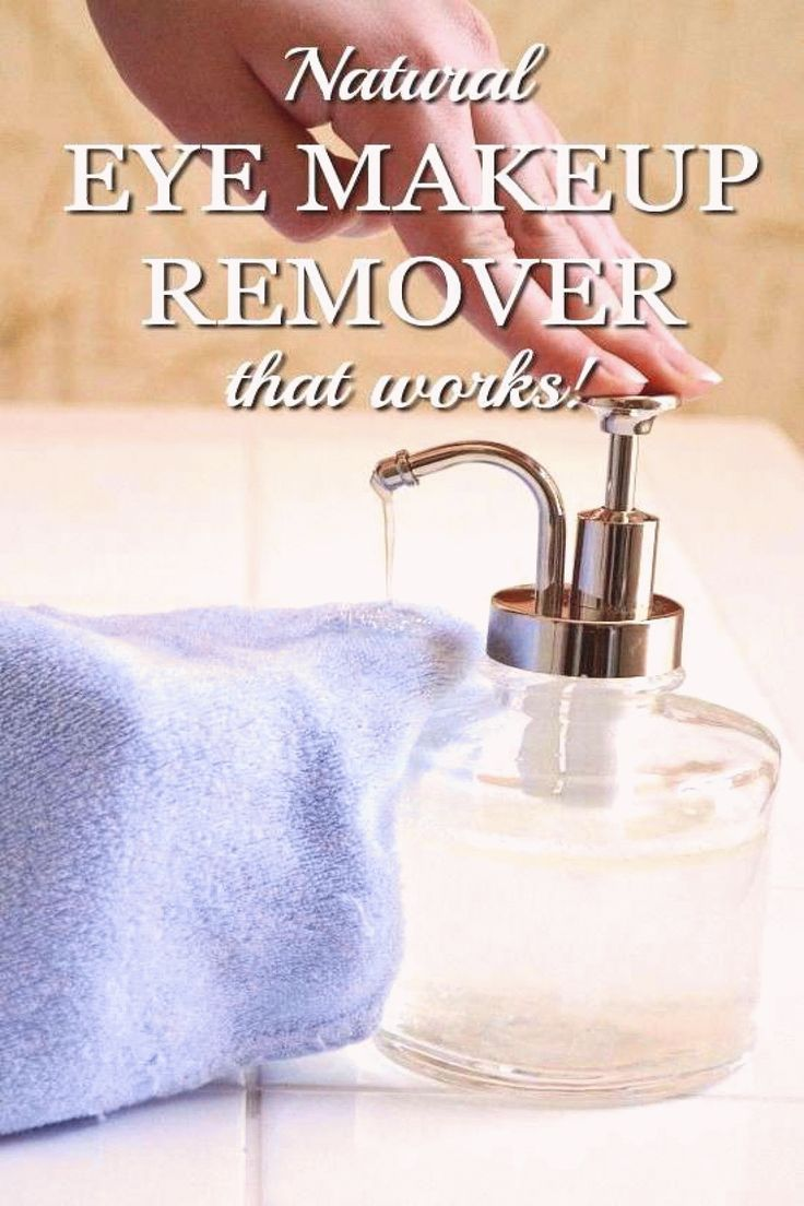 Ready to try a homemade natural eye makeup remover that