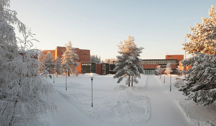 University of Eastern Finland, Joensuu, winter