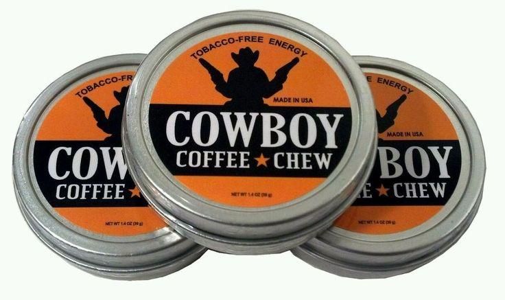 Cowboy Chew Herbal snuff 3 cans 1.4 oz moist tobacco free Brand Smokey Mountain