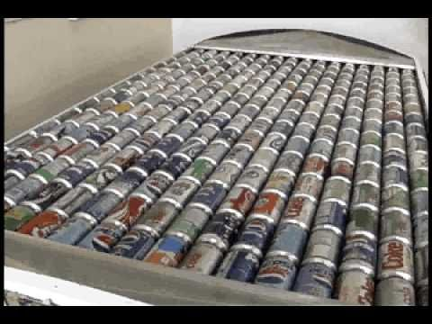 "How To Create Energy With Aluminum Cans - Brilliant Newfoundlander Invents the Solution! ""Jim Meaney founded his company Cansolair on the simple premise of generating energy using help from aluminum cans.  He turns them into solar heating units, and has developed a forced convection solar heating device that can heat a 1000 square foot home with just 15 minutes of sunlight per hour. """
