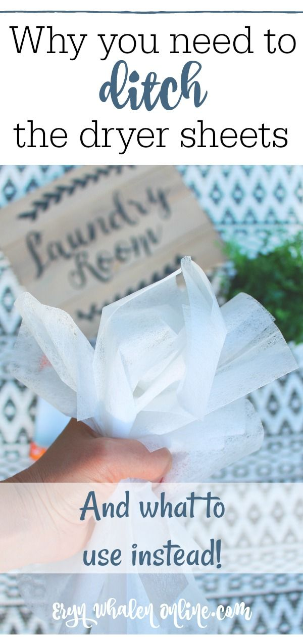 Why You Need To Ditch The Dryer Sheets And What To Use Instead
