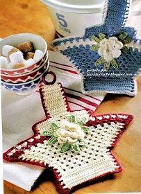 cestas em croche em croche com receitas