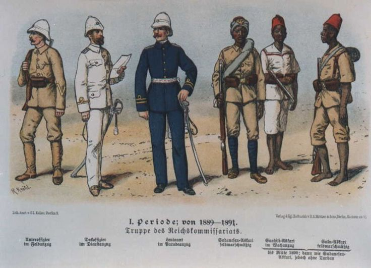 Colonial Soldiers Uniform 2