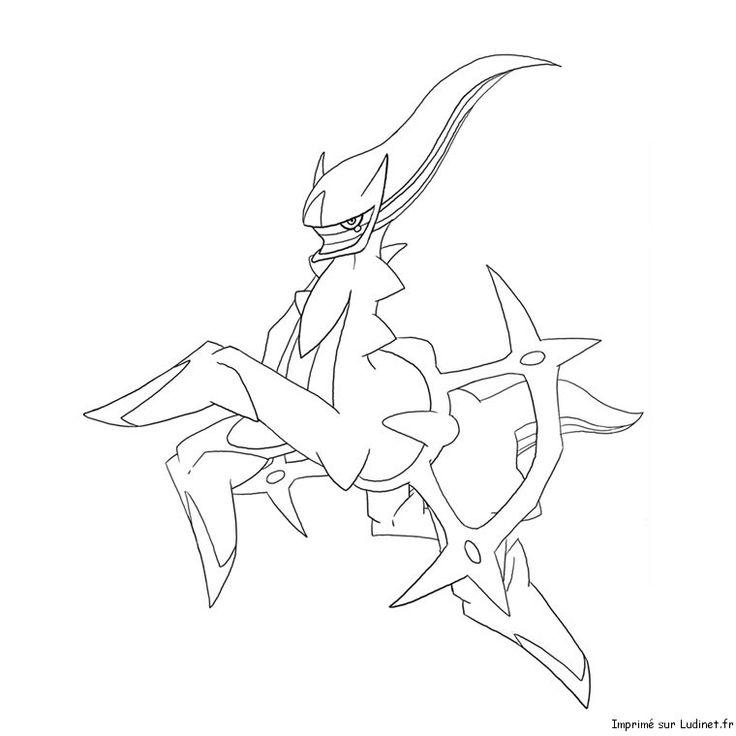 arceus Pokemon sketch, Pokemon coloring, Pokemon