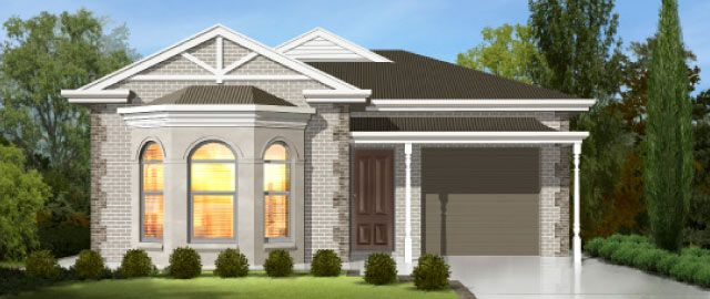 The Livorno Facade Option 02 - from the Weeks Peacock Homes Heritage Collection. As you enter the Livorno and wind your way toward the rear of the home you are greeted with an expansive, light filled living space.