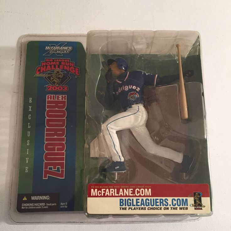 "McFarlane Exclusive MLB Alex Rodriguez 2003 Home Run Challenge 5"" Action Figure  #McFarlaneToys"