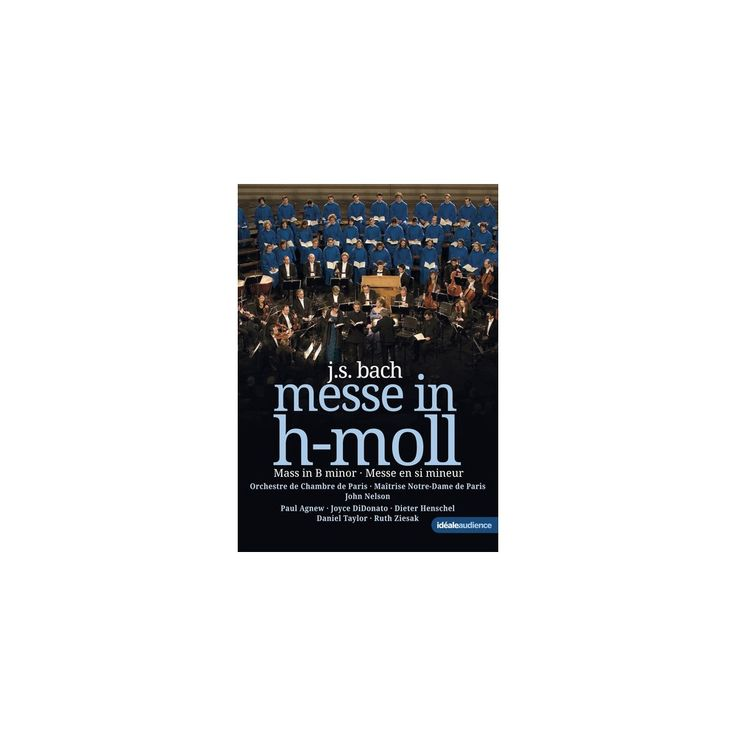 Bach: Messe in H-Moll / Mass in B Minor (Dvd)