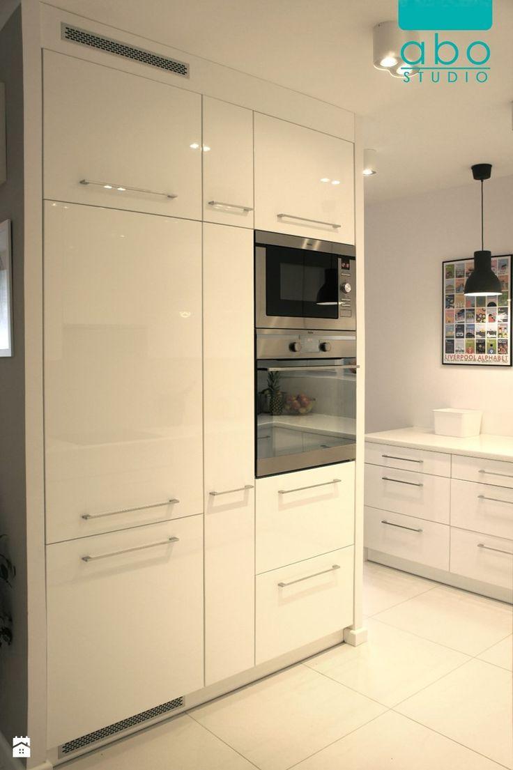 apartament Polanka- kuchnia, Poznań - Kuchnia, styl minimalistyczny - zdjęcie od abostudio