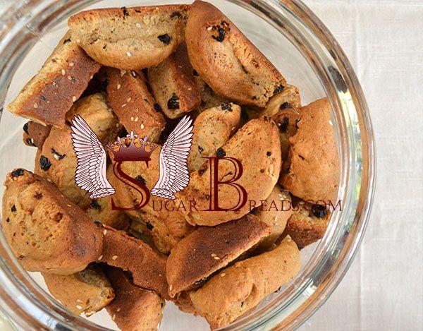 Греческое сухое печенье