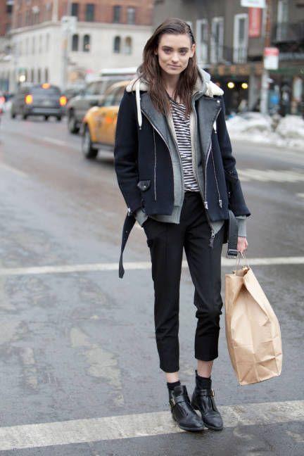 NYFW Street style, F/W 2014