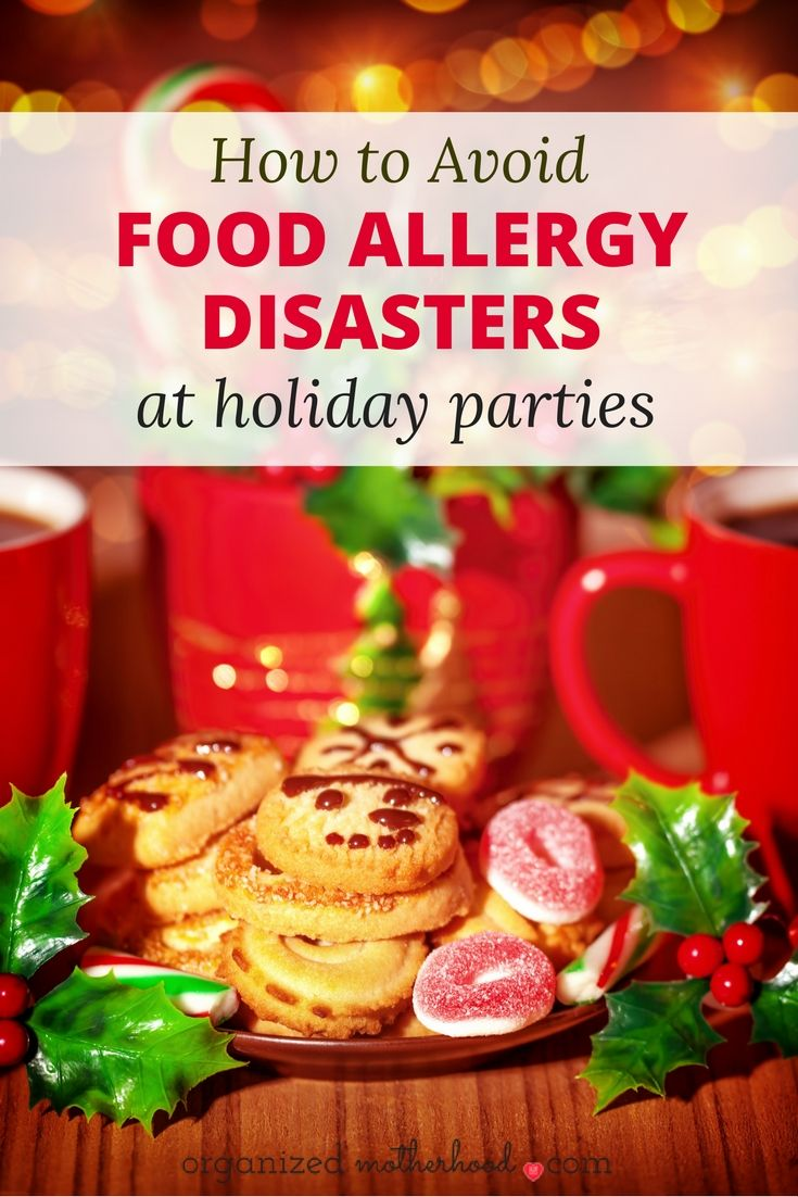 Whether you're hosting or taking your kids to a holiday party, avoid having an emergency food allergy reaction with these simple tips.