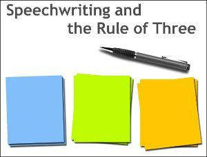 Why Successful Speech Outlines follow the Rule of Three, by @6minutes