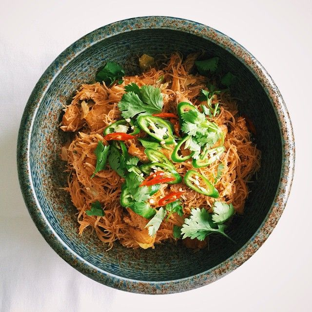 Indian Style Fried Rice Vermicelli