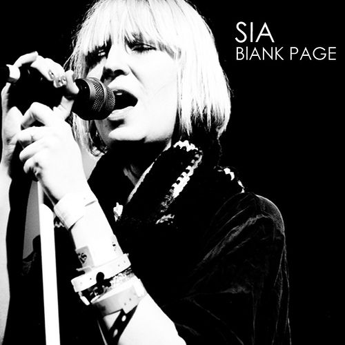 Sia - Blank Page Artwork | Flickr - Photo Sharing! Description from flickr.com. I searched for this on bing.com/images