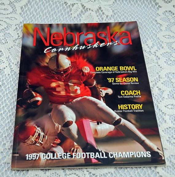 1997 Nebraska Cornhuskers College Football Champions Orange Bowel, Nebraska v Tennessee