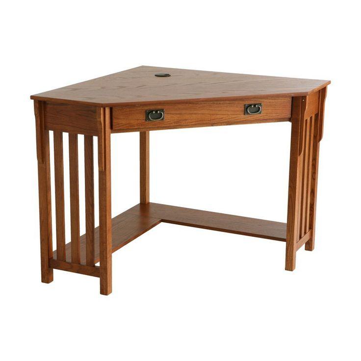 Corner Oak Computer Desk - Desk Design Ideas Check more at http://www.shophyperformance.com/corner-oak-computer-desk/