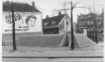 1964.De Laantjes ( bij de Breeweg) met schuilkelder