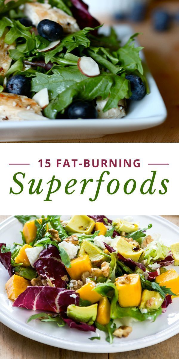 15 Fat-Burning Superfoods