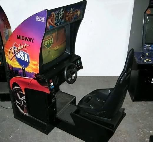 31 best Race Arcade Cabinet images on Pinterest | Cabinets, Racing ...