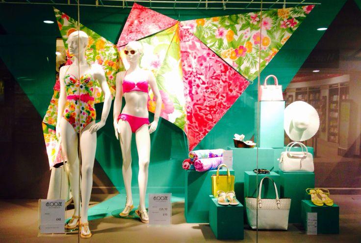 Debenhams visual merchandising window display