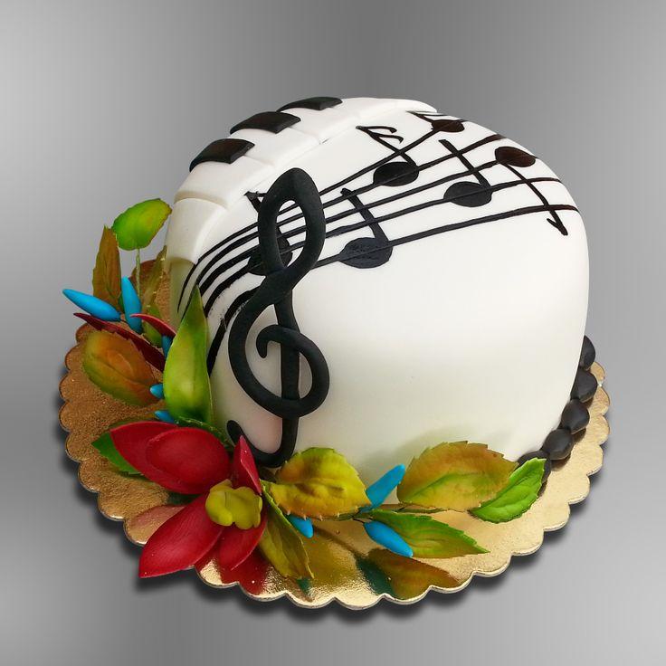 Muzikantská / Music cake
