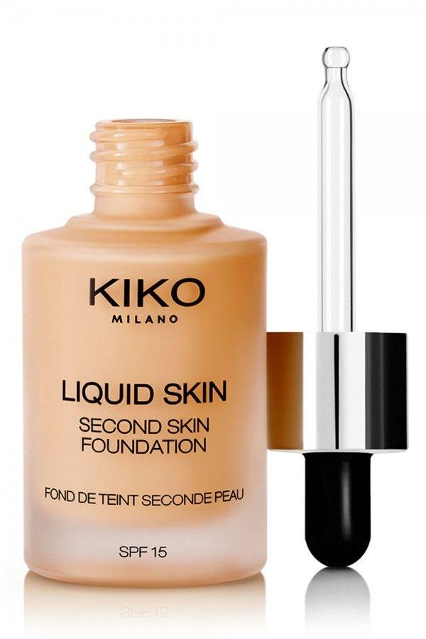 Kiko Second Skin Liquid Foundation, £18.90
