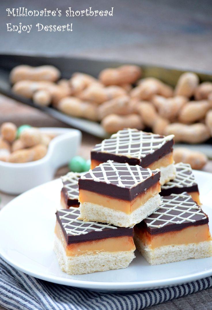 Totally DELISH! Prajitura milionarului este o prajitura foarte cunoscuta si apreciata prin alte tari. Este o combinatie dintre un biscuite si un baton de ciocolata cu caramel.